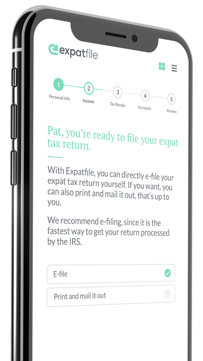Expat taxes have never been so easy